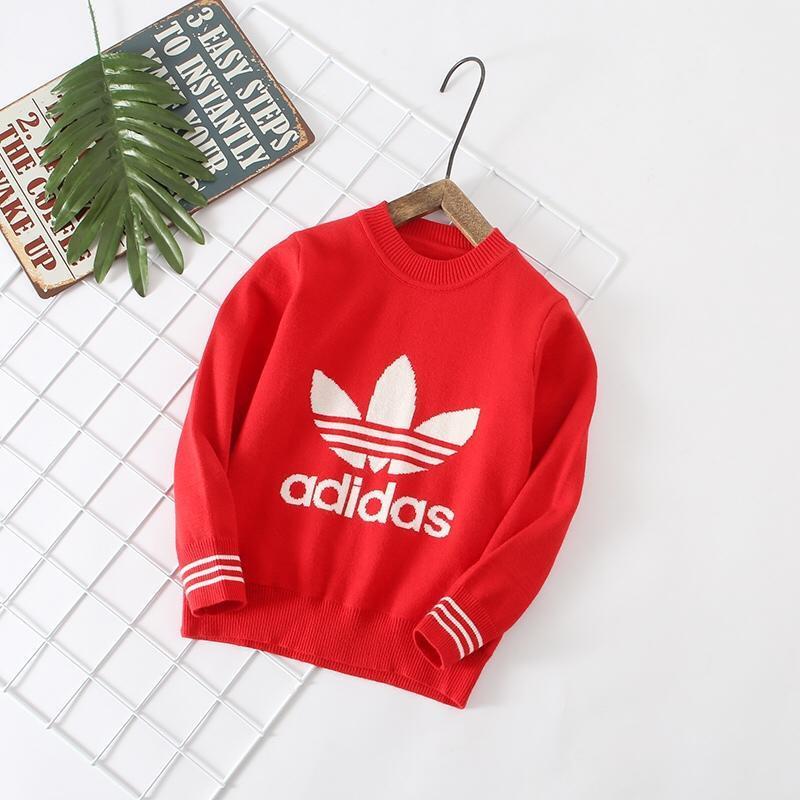 4d2b4e5b7 Fashion 2018 Kids Girls Clothing New Pattern Winter Sweaters Baby ...