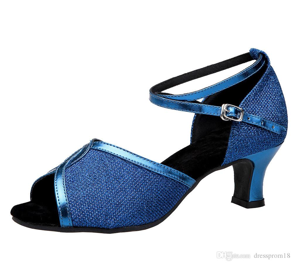 Женская одежда X Leather Glittering Latin Salsa Танцевальная обувь для танцев 2