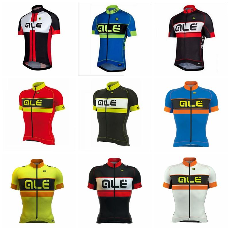 1e55c8ff7 ALE Team Cycling Short Sleeves Jersey Bicycling Wear Mens 2018 ...
