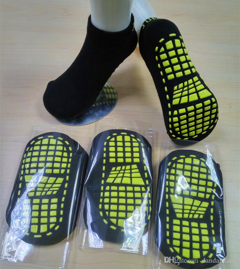 2344d99bd Trampoline Socks Silicone Antiskid Outdoor Sports Socks Comfortable Premium  Yoga Pilates Sock Lady Boat Socks Non Slip Ankle Short Sock UK 2019 From ...