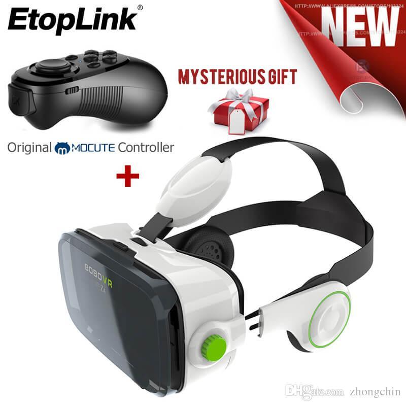 Compre Realidade Virtual Óculos Vr 2.0 Óculos 3D BOBOVR Z4 VR Shinecon 2.0  II 6.0 Capacete Óculos De Vídeo 3D Fone De Ouvido + Bluetooth Remoto De  Zhongchin ... 45bed0bd79