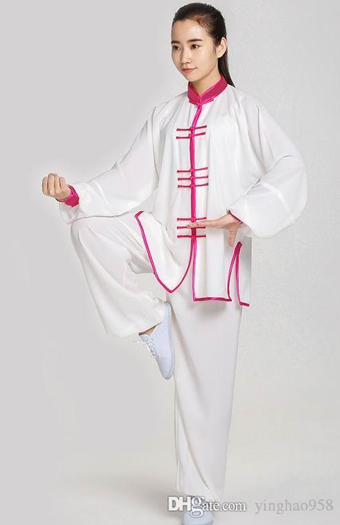 Summer Hemp yarn tai chi women Chinese wind men tai chi clothing martial arts suit Chinese practice kung fu suit