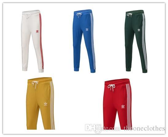 4818651f5e6 Fashion Brand Men Women Jogger Sport Pants Gym Leggings Elastic ...