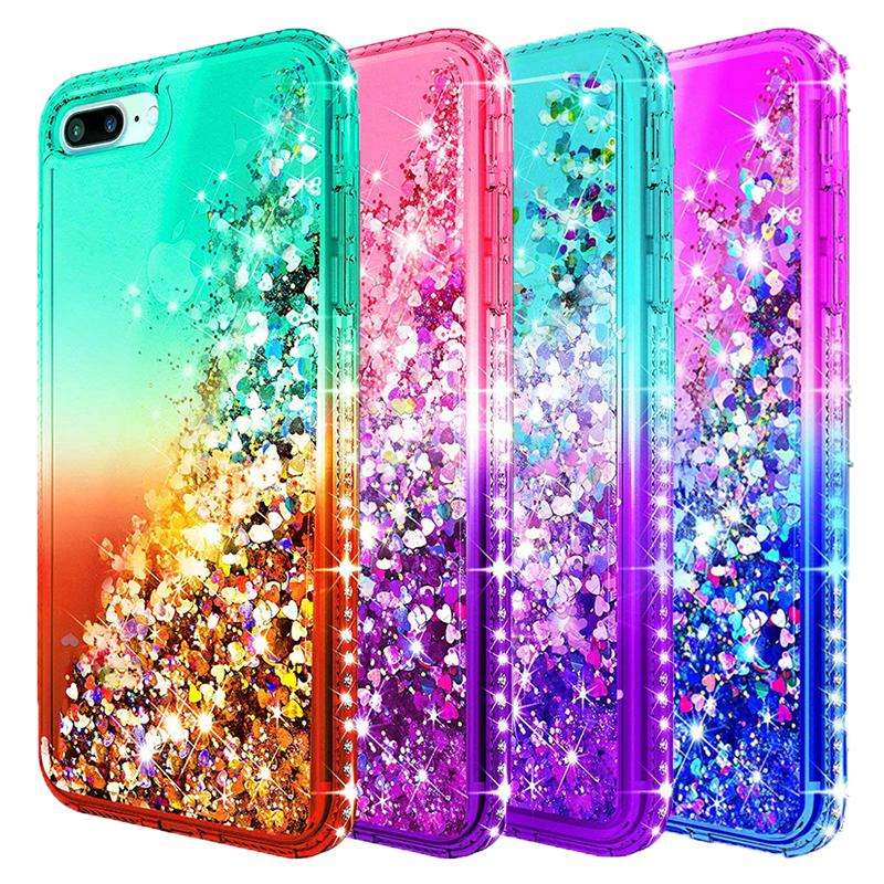 glitter cases iphone 8 plus
