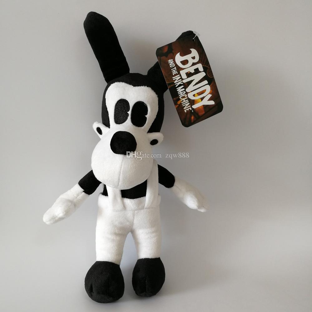 새로운 게임 / 25-30cm Bendy Dog Bendy와 잉크 기계 봉제 인형 장난감 Chidlren 최고의 크리스마스 선물 NOOM005