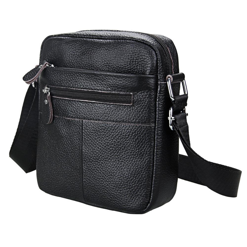 925949c9c604 Men Shoulder Bag Genuine Leather Small Messenger Bag Men Leather Shoulder  Man Bags Soft Cowhide Postman Crossbody Sling Male Satchel Bags Cheap  Purses From ...