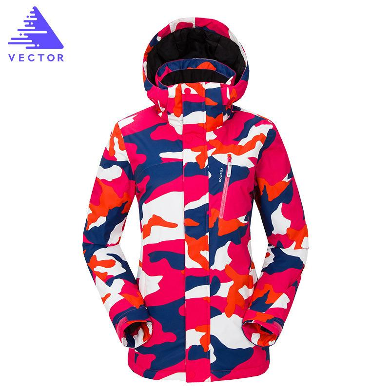 quality design 18b78 75cb8 Frauen Ski Jacke Outdoor Winter Ski Bekleidung Damen Wasserdicht Winddicht  Snowboard Mantel Atmungsaktiv Super Warm Winter Anzug