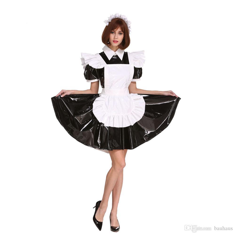 ef30bd9d70 New Arrival Sissy Girl Maid Lockable Black Dress Crossdressing For Men Plus  Size Costume Cosplay Crossdress Canada 2019 From Bauhaus