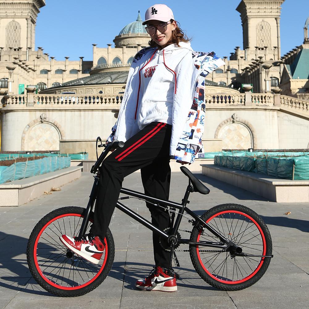 Großhandel Bmx Bike Stahlrahmen, 20 Zoll Herren Freestyle Show ...