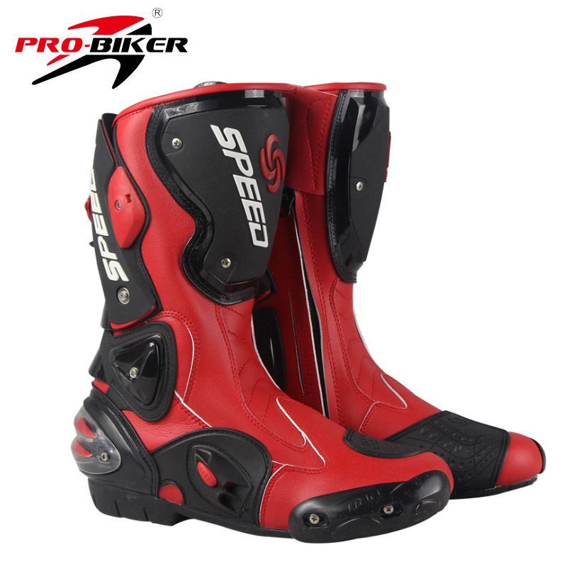 Motorrad Leder Road Riding Echtes B1001 Schuhe Motocross