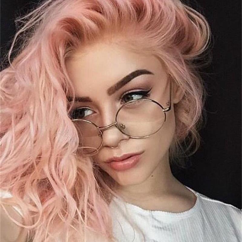2018 new clear round glasses women classic optics eyeglasses men