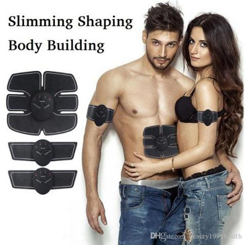 Intelligent Muscle Arm Stimulator Body Slimming Beauty Machine Abdominal Muscle Exerciser Training Device Body Massager Muscle Paste