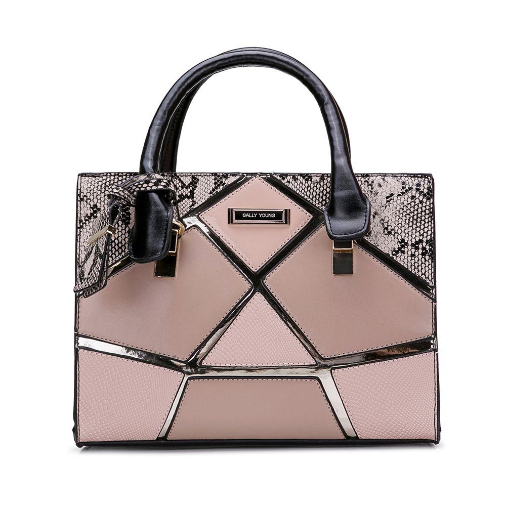 ed1ee27c74fe New Arrival Women Handbags Elegant Tote Fashion Brand Designer Socialite  Serpentine Stereotypes Shoulder Bags Patchwork High Quality SY2135 Large  Handbags ...