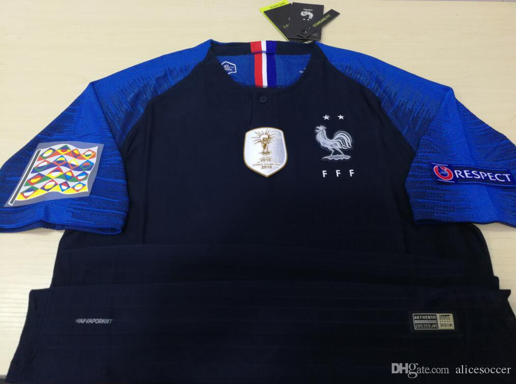 low priced f4049 d1bcf usa france 7 griezmann blue soccer country jersey 88696 69144