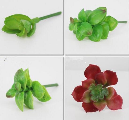 Simulazione di moda Hot Succulente fiori artificiali ornamenti mini verde piante grasse artificiali decorazione del giardino