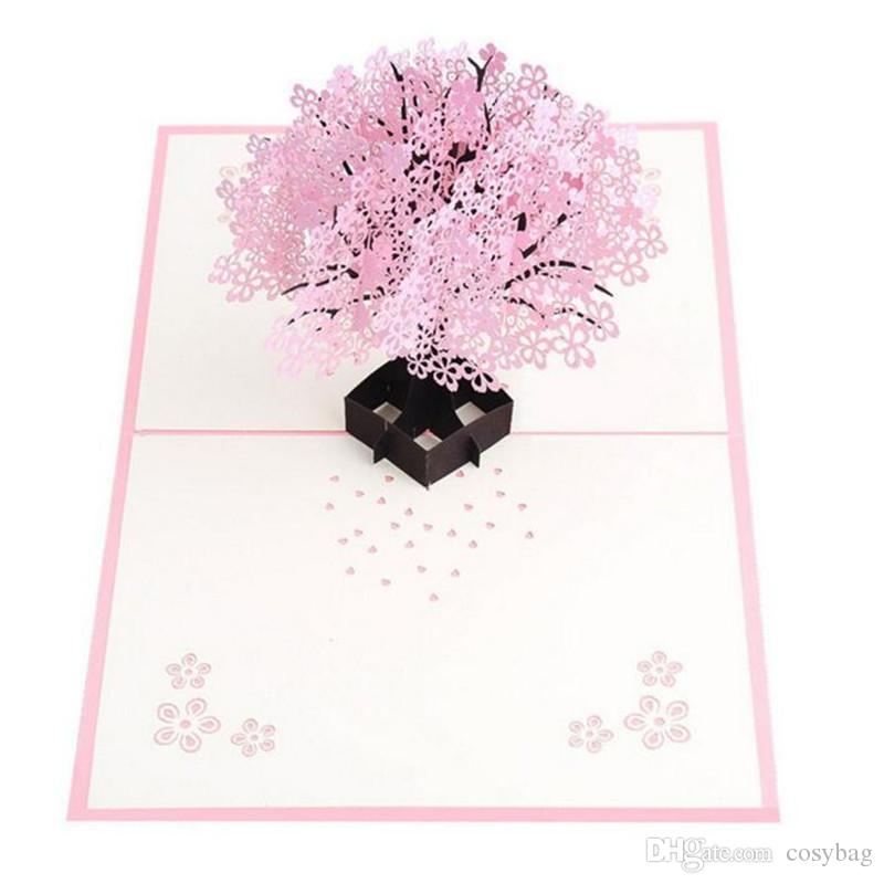 2018 Lovepop Cherry Blossom Pop Up Cards 3d Card Mother Day Card