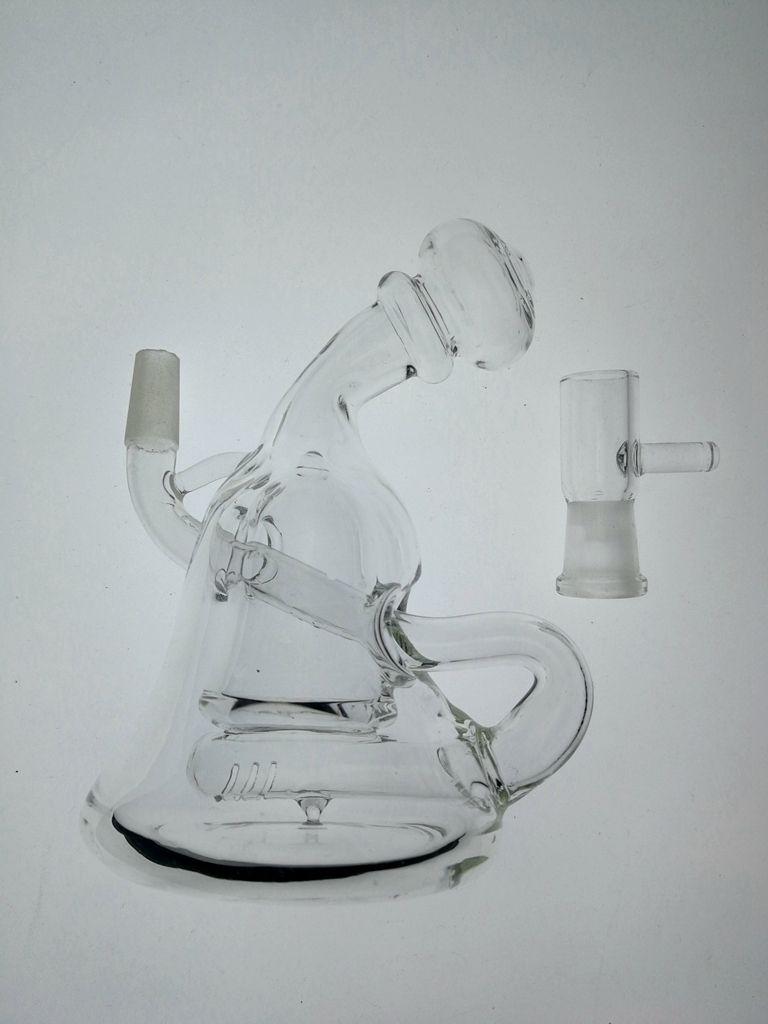 hitman мини-стеклянные бонги встроенный percbeaker бонг illadelphe толщиной 4