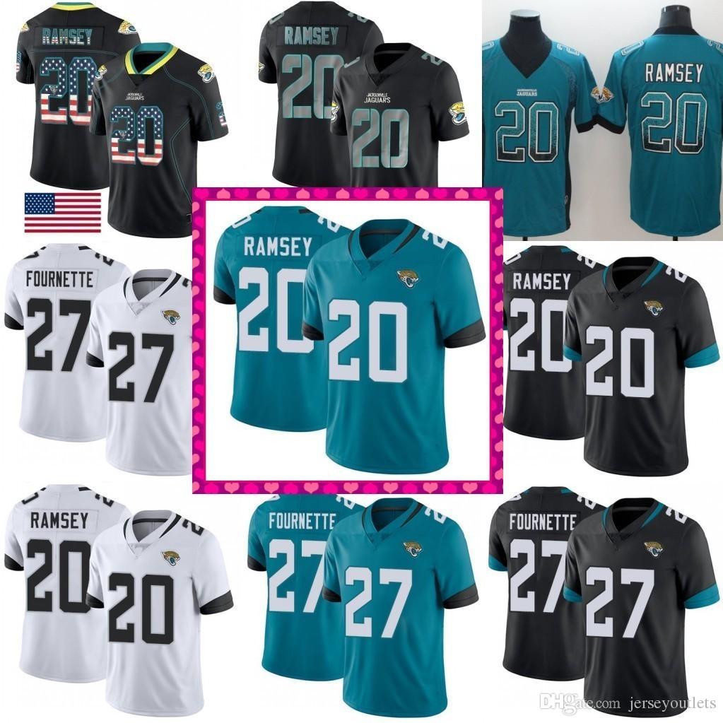 new product d304c 777d5 2018 New Limited 27 Leonard Fournette Jaguars Jersey 20 Jalen Ramsey 5  Blake Bortles Football Jerseys 02