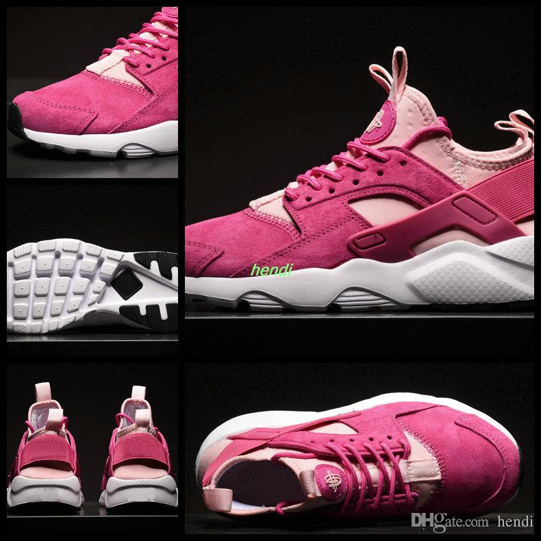 outlet buy Air Huarache 4 IV Run Ultra PK4 Wallace Personality Womens Running Shoes For women Hurche Inside Air Cushion Outdoor Sneakers Pink 36-39 clearance cheap real free shipping with paypal 87NLaA0L
