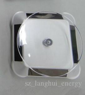 Factory electronic solar rotating display stand without LED classic turntable for jewellery watch glasses useful showcase for exhibition 038