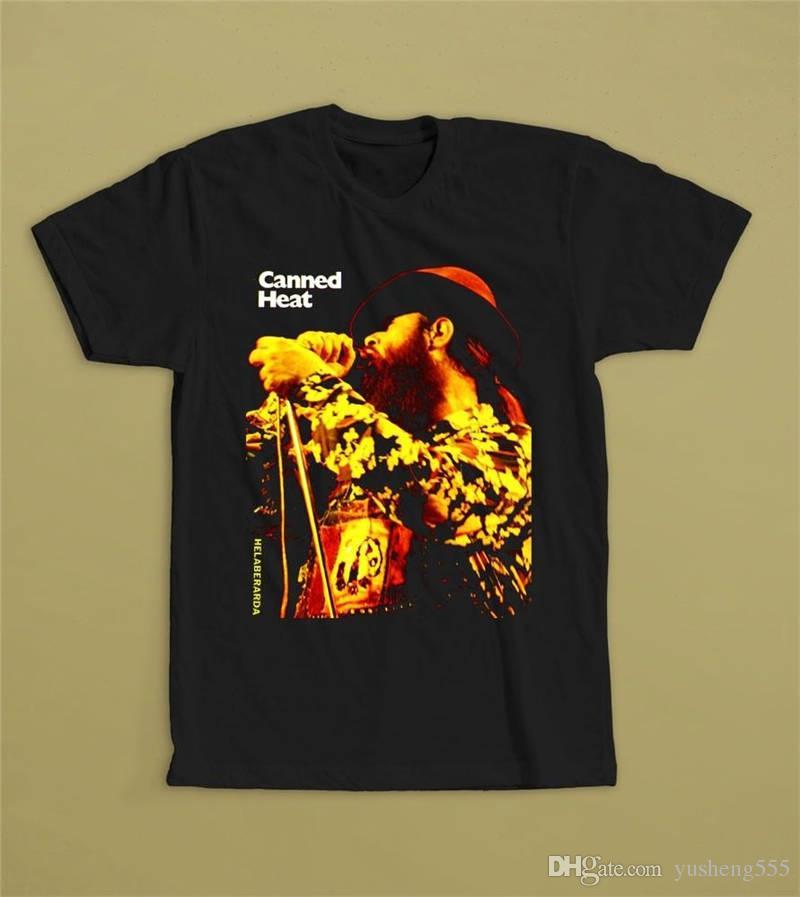 big discount of 2019 clear-cut texture shop for original Shirt Design Website Canned Heat Helaberarda Short O-Neck Compression T  Shirts For Men