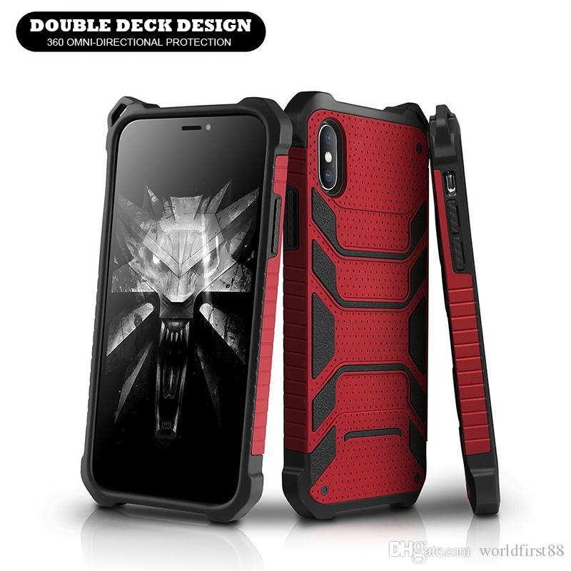 buy popular 2f618 5f850 Spiderman Armor Case Defender Shockproof Tough Phone Case Cool Phone Cases  For iPhone X 8 7 Plus Samsung Galaxy S7 Note9 S9 S8