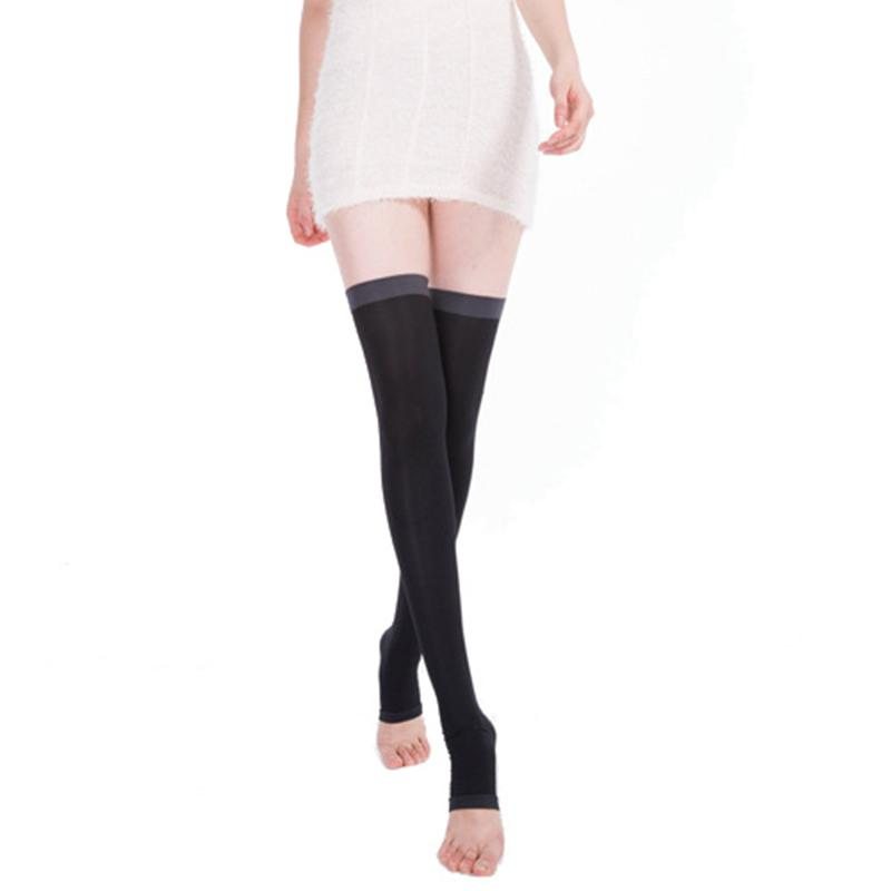 538c464d1e 2019 Elastic Compression Stockings For Men Women Sleep Slim Leg Stockings  Pressure Burn Fat From Ladylbdcloth, $23.05 | DHgate.Com