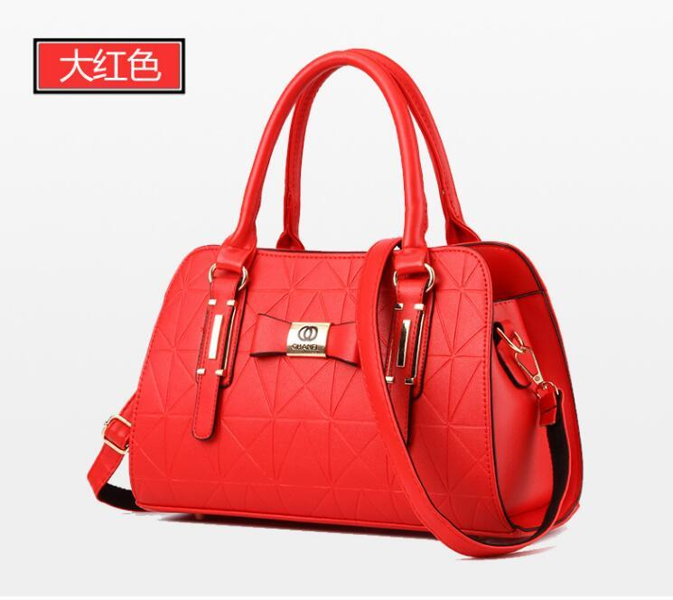 b3d0fe517f3d 2018 Designer Women Handbag Female PU Leather Bags Handbags Ladies Portable  Shoulder Bag Office Ladies Hobos Bag Totes Branded Bags Leather Backpacks  From ...