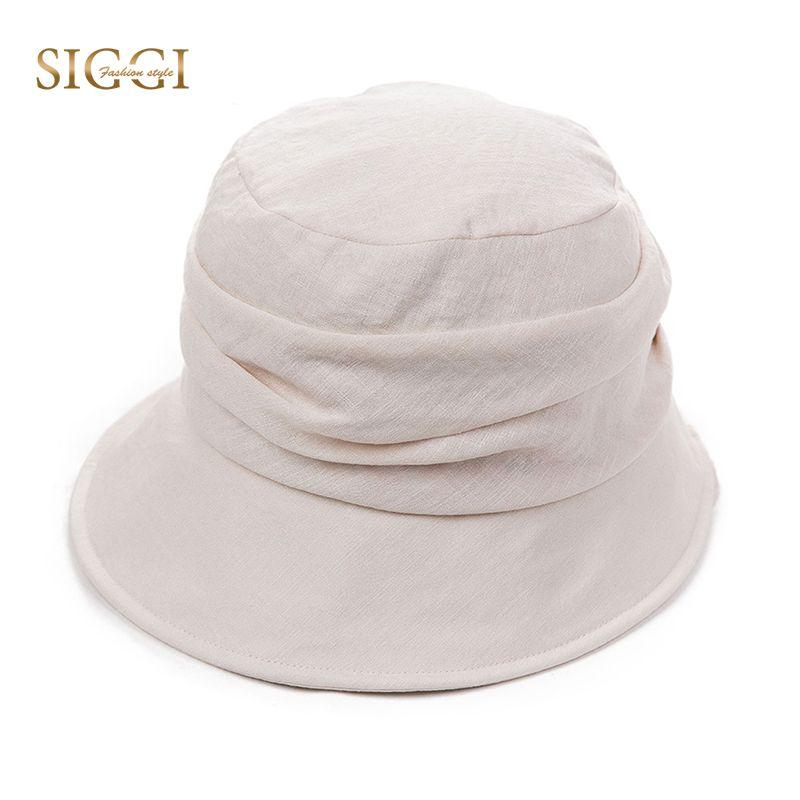 48f0f8ab440954 SIGGI Women Sun Hat Foldable Summer Chapeu Feminino Praia Chapeau Femme Bucket  UV Cord Beach Cap Cute Fashion UPF 50 69027 Sun Hats Cheap Sun Hats SIGGI  ...