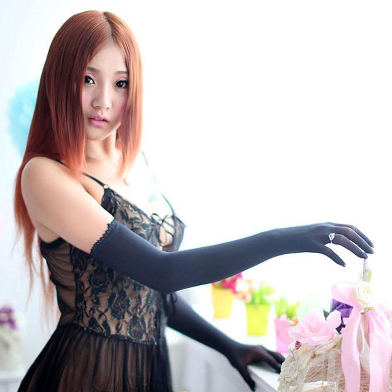 Bekleidung Zubehör Frauen Sexy Dessous Hot Schwarz Spitze Eye Covers Mit 1 Paar Handschuhe Hand Wrap Kostüme Neue