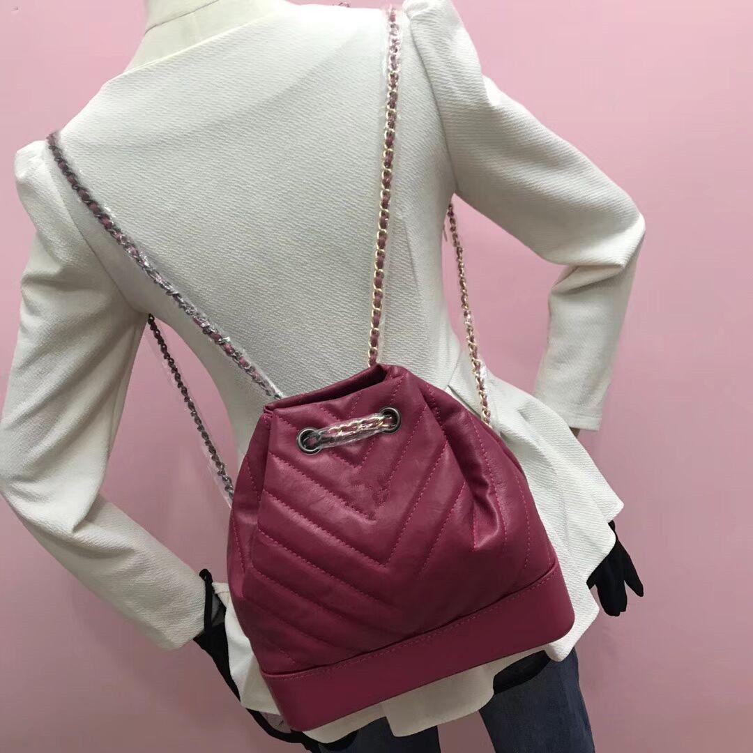 2018 Genuine Leather Hot Sales Women Designer Handbags Chain Single ... 7756e59bd6949