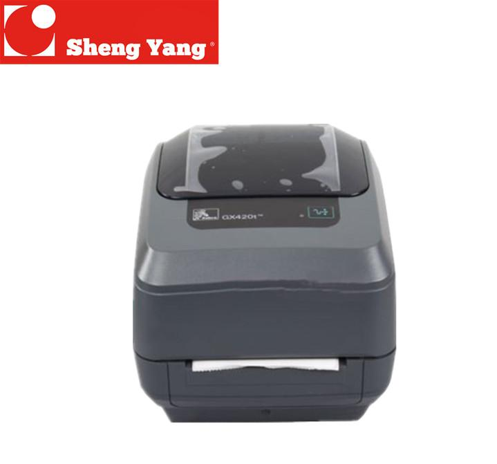 Original zebra GX420d/GX420t desktop barcode printer 203dpi printer label  200dpi new free shipping