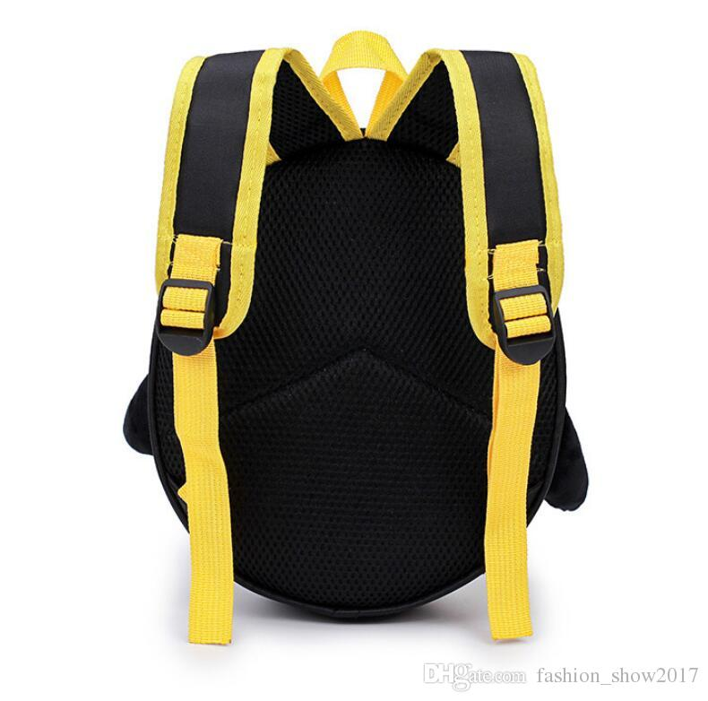 3D Cartoon Bags for Toddler Kids Waterproof Penguin Children Backpack For Boys School Bags mochila escolar