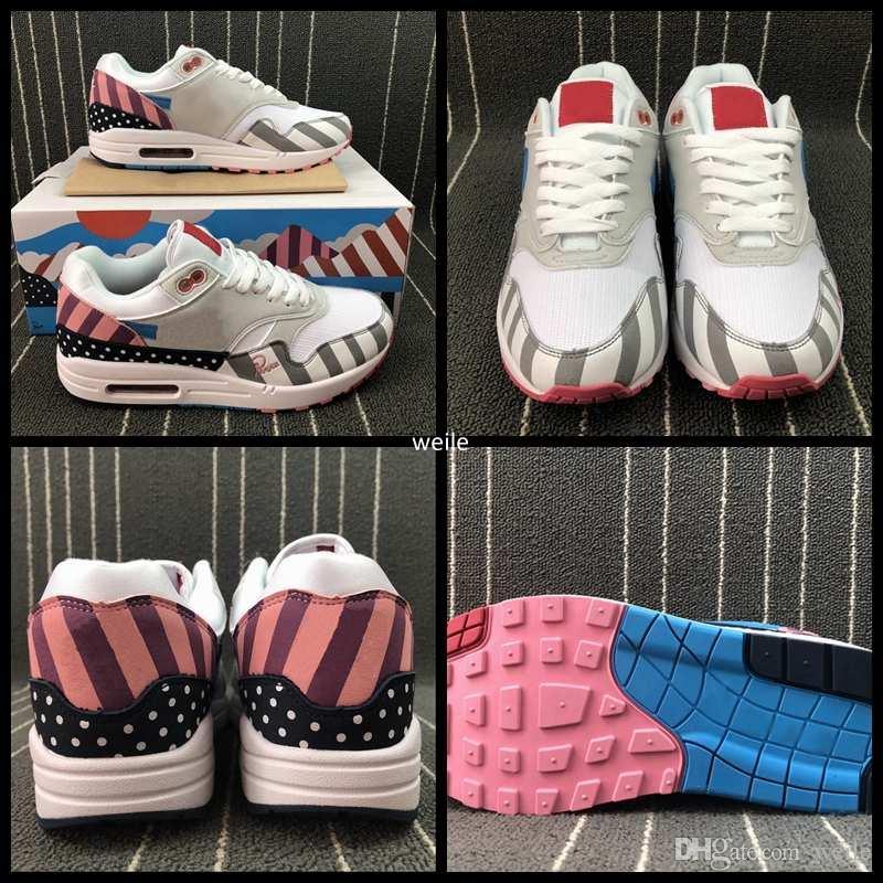 4a2ca13f93d New 2018 Piet Parra 1 Running Shoes Brand Women Men Maxes Rainbow ...