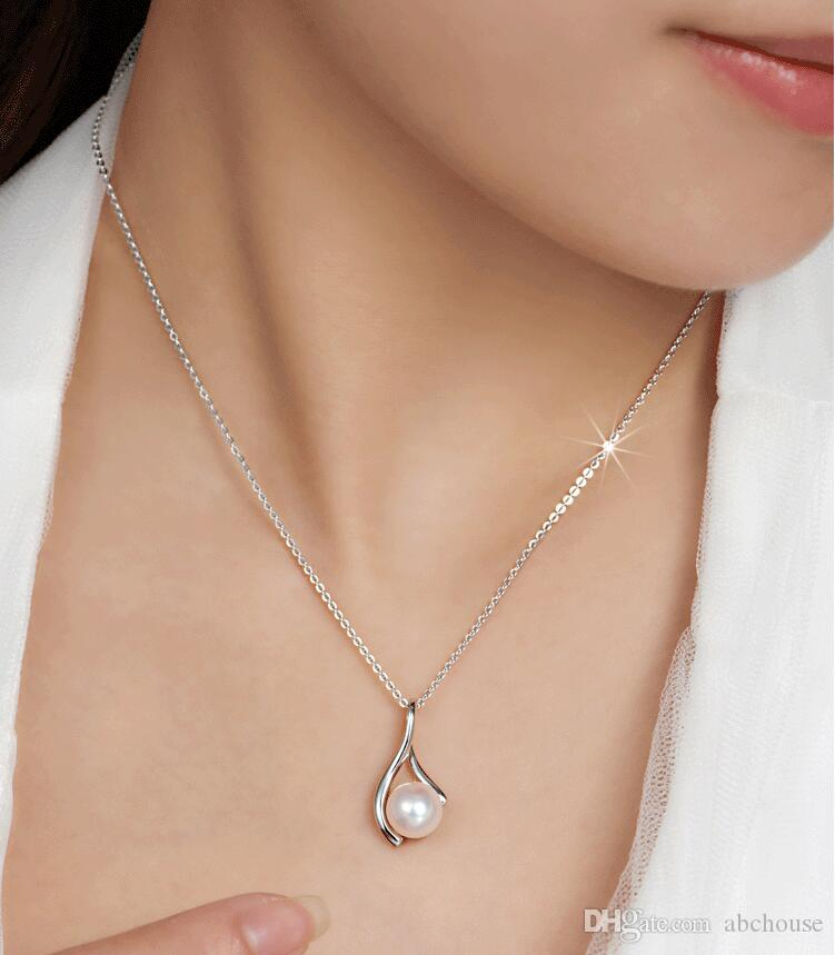 925 Silver Chain 1mm 18 inch O Chain Necklace/ 50cm Stainless steel Chain Fit DIY pendant Necklaces Christmas Gift