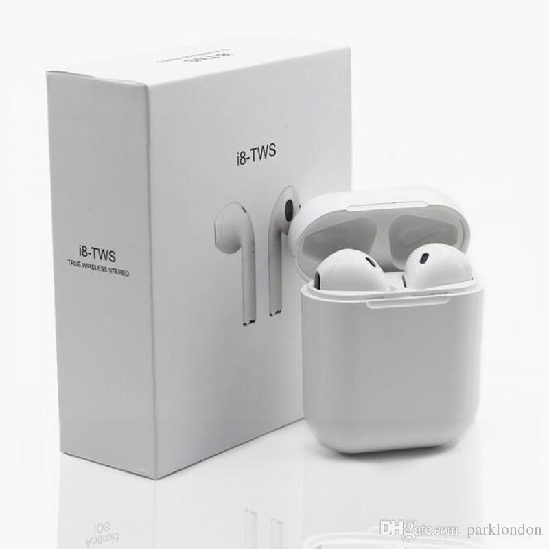 f4a7e82661c 2018 I8X MINI Wireless Bluetooth Earbuds Headphones With Charger Box For  Apple Iphone X 8 7 Plus IOS Android Driving Earphones With Package Wireless  ...