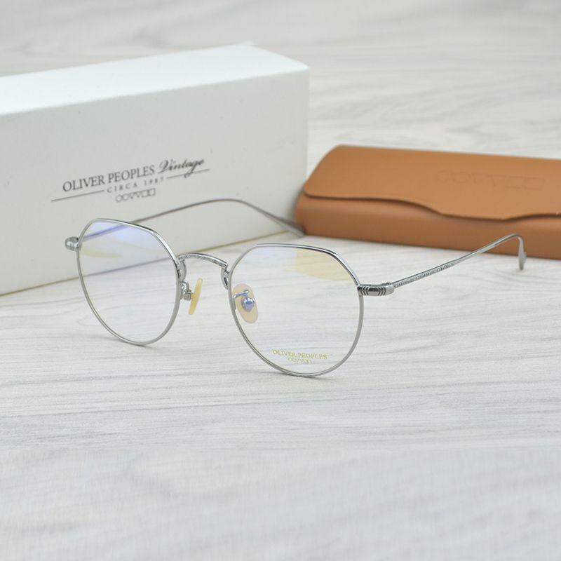 a87f8e019b08d Compre Puro Titanium Óculos De Armação Completa Óculos De Armação Óptica  Prescrição Homens Espetáculo De Leitura Miopia Olho Óculos De Neimai, ...