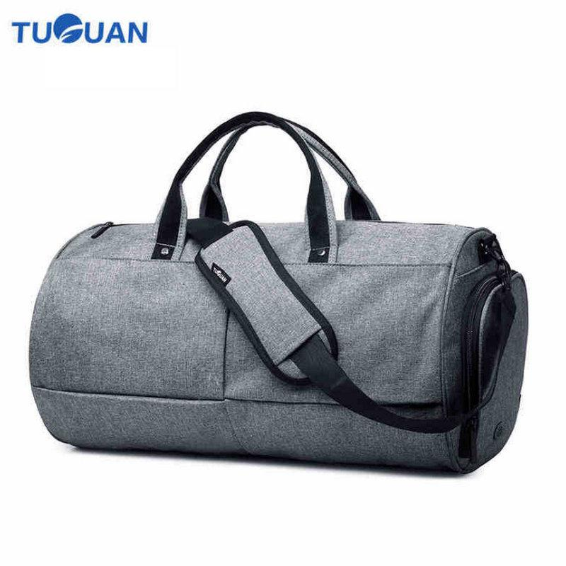 3e33736e2 2018 Men Travel Bags Casual Outdoor Shoulder Travel Portable Bag Men  Handbags Big Capacity Weekend Totes Waterproof Duffle B2 Best Gym Bags  Large Duffel ...