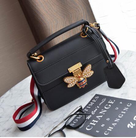 949b77e18f 2018 Luxury Crossbody Bag Women Colorful Splicing Little Bee Bags Designer  Handbag Female Shoulder Bags Messenger Bag Sac Femme Mens Bags Messenger Bags  For ...