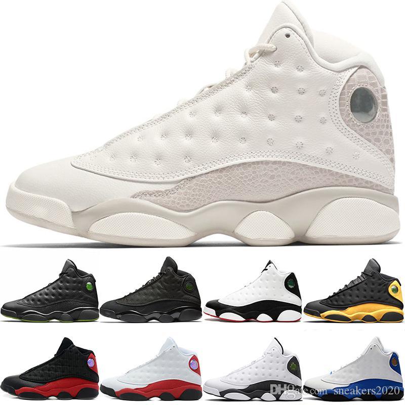 promo code e7ce3 7f059 Nike Air Jordan Retro He Got Game 13 13s Hombres Zapatillas De Baloncesto  Melo Clase De 2002 Phantom Black Cat Bred Chicago Diseñador Entrenador  Sport ...