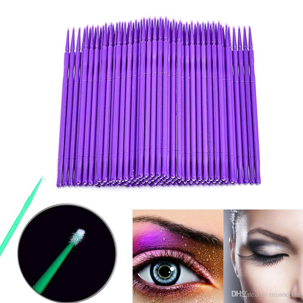743655c2a03 2019 /Bag Durable Micro Disposable Eyelash Extension Individual Applicators  Mascara Brush For Women Eyelash Glue Cleaning Stick From Misssecret, ...