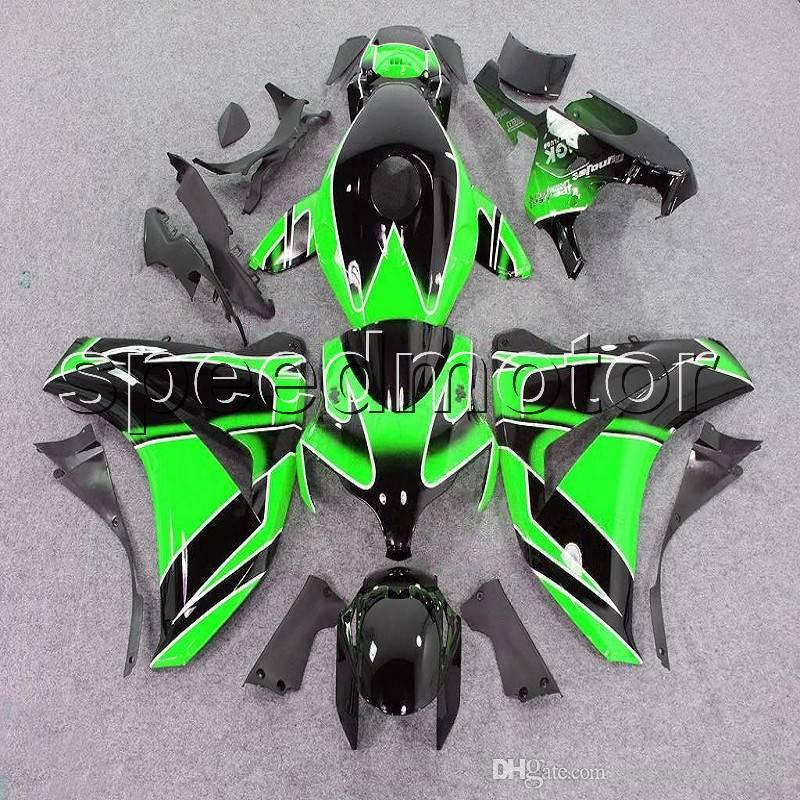 23colors+Gifts Injection mold green black motorcycle cover Fairing for HONDA CBR 1000 RR 2008 2009 2010 2011 ABS plastic kit