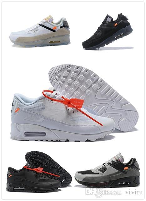 dd5174074b4bd 2018 Cheap OFF Classic 90 Running Shoes Mens Womens Fashion Designer ...