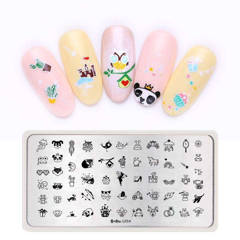 Japanese Style Floral Lovely Pet Dog Nail Art Stamping Plate Template Image  Print Manicure Professional Stamp Plates Nail Art Book Nail Art Paint From  ... - Japanese Style Floral Lovely Pet Dog Nail Art Stamping Plate