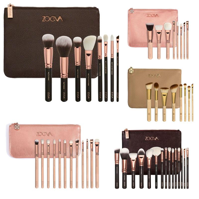 NEW Brand 8 / 12 / 15 PCS MAKEUP BRUSH SET Professional Luxury Set Make Up Tools Kit Powder Blending