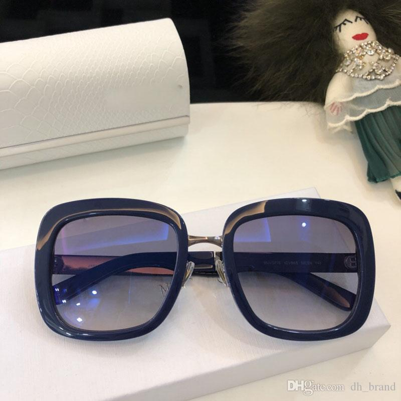 66dc1ba070f8 2018 Newest Oversized Square Sunglasses Women Brand Designer Sun Glasses  Female Vintage Shades Eyewear With Box Womens Sunglasses Sunglasses Sale  From ...