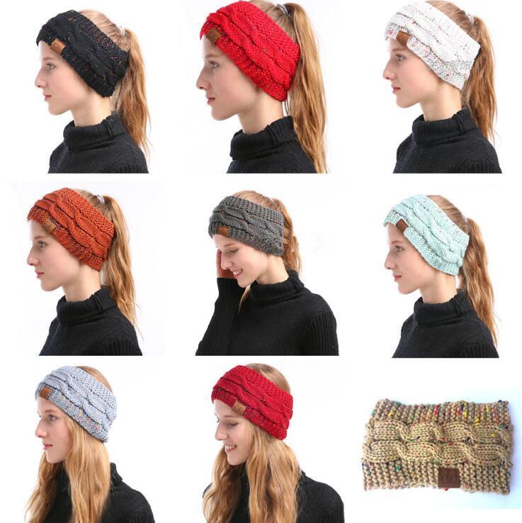 Großhandel Cc Gestrickte Stirnband 9 Farben Gilrs Winter Headwrap ...