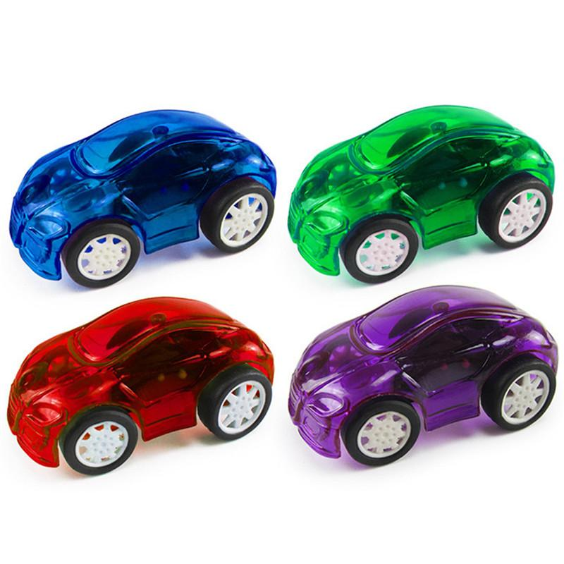 Fashion 8Pcs Mini Pull Back Cars Puzzle Early Education Toy best gift for kids A# dropshipping