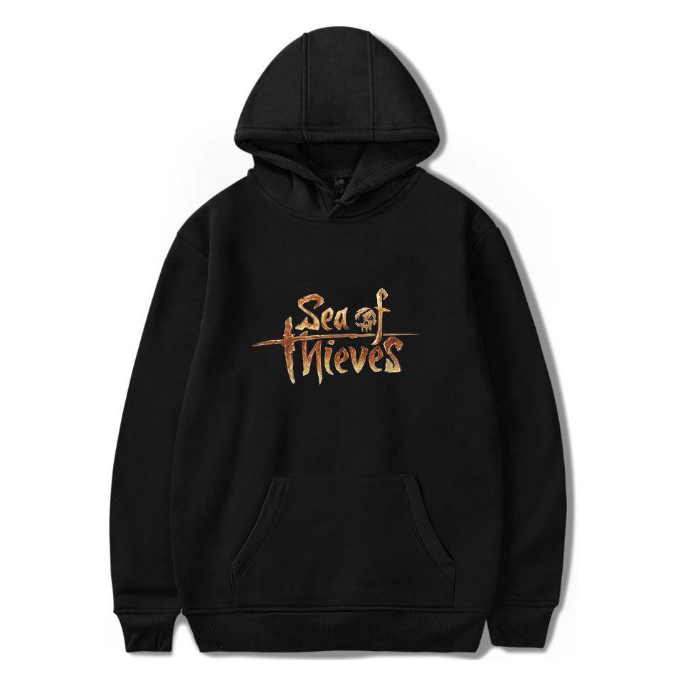 Kalçalar Hoodies Sonbahar Kış Hip Hop Kış Hoodies Kazak portwear ile Erkek Polar Kazak Denizci hırsızlar