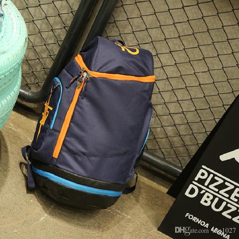 dcd563128f 2019 KD Basketball Backpacks Men Outdoor Hiking Training Designer Backpack  Sport Fitness Laptop Brand Backpack For Men Women From Hlq1027